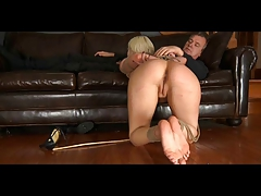 Domination & submission Slave Cherry  in Restrain bondage