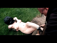 Outdoor  Tortures Harassment of  Slave Olivia