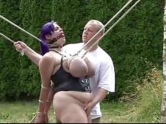 wonderfull boobs restrain bondage