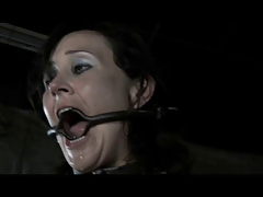 BDSM Gimp Poppy James - Gag Whip Whip and Chains