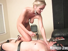 shoe cleaning marionette gets fucked