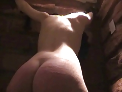 Hoe have stiff spanked booty