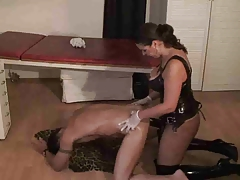 strap-on domina poke gimp