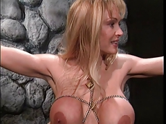 Immense baps  taunts her super-sexy slaves baps