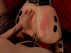 Redhead Gets Aggressively Electrocuted, Tormented & Poked (JLTT)