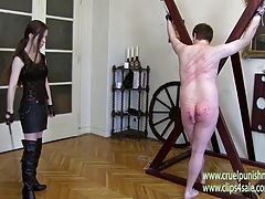 Merciless Nymph Victoria - Caning, Whipping,