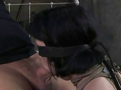 Torrid  AN Great Deep-throat and Harsh Hookup