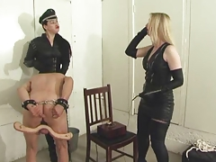 Exquisite Brit Gals Give subs  tasks