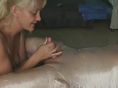 corded post orgasm Hand job funny mechanism