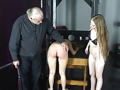 Nice young  bondage & discipline women enjoy getting spanked rock-hard in the