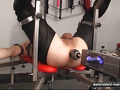 Ass fucking Smash Machine - Anguish for his ass