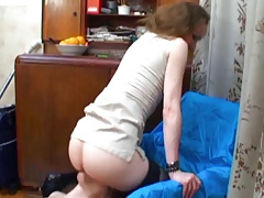Mistress has ass and cunt licked