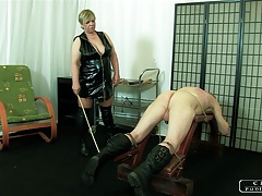 The  Granny VI - face slapping, caning, lashing