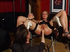 Rigid Anal Going knuckle deep German Bondage & discipline -AFM-