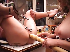 I Am Pierced - Heavy pierced and tattooed slave with cootchie r