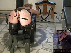 Tied-Spanking-Butt Plug-Orgasm - Tiny Sunshine