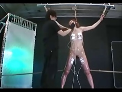 Chinese  Ass-fuck Hooks And Electroplay