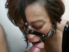 Restrain bondage piercing whore assfuck