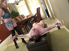 Lizzy's cruel caning