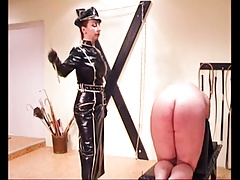 Violent Femdon Princess  in ebony  tortures..
