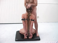 Uber-sexy domination with footjob