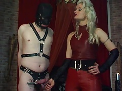 scraping the dickhead with  pokes 02