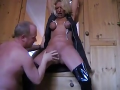 Submissiver german mature  and fisted