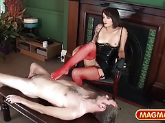 MAGMA FILM Stunning Domme taking manage