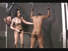 Shambok and whipping the prisoner by  Cybill Troy