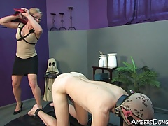 Ambers Dungeon space is filled with female dominance Mistresses