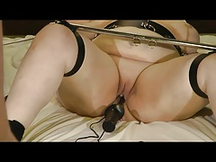 18-Jun-2015 V2 mega-slut victim cunny and ass fucking electrodes