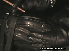 The Leather Domina - Leather  - Smoking Fetish