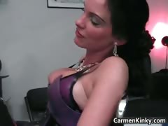 Kinky domme Carmen knows how part2