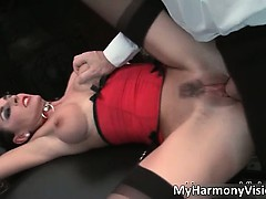 Whorey black-haired Mummy Karina Currie part4