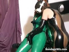 wild biotch  in latex and play part6