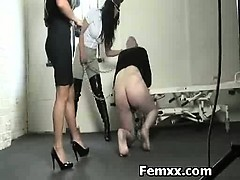 Delightful Fem Dom With Juicy Chick