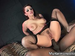 Insane brunette with phat tits Liza Del part1