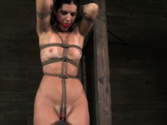 Over arm strapped India Summer breast torture