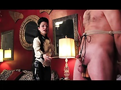 Dominatrix - Cock ball torture Superslut
