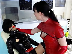what a dream -  rubber sissy instructing Cheyenne de Muriel