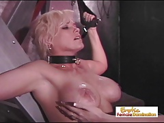 Huge-boobed Slave Badly  For Her Mistakes