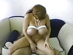Brandy Dean bounded, banged and facialized