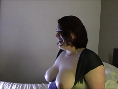 Obese Geeky Nymph short clips