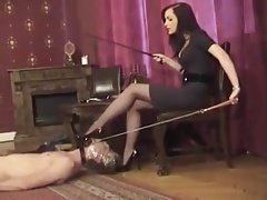 Femdom - German Mistress Bootworship and Hj