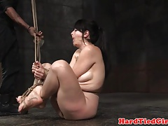 Analhooked fetish marionette tiedup by ebony