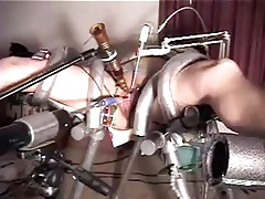 Victim wife trussed peehole penetrated and in continuou climax