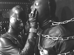The Leather Domina - Leather Fetish -  Leather Restrain bondage