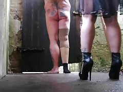 Double caning My pain marionette