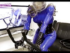 Anaerobic  gas mask Rubber  Breath Play