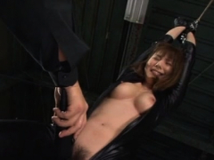 Mind-blowing maid Yuma Asami's hole licked and pounded